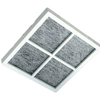 LG ADQ73214404 Refrigerator Air Filter (3-pack) LT120F