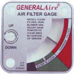 General Aire Air Filter Gage G-99 (4002)